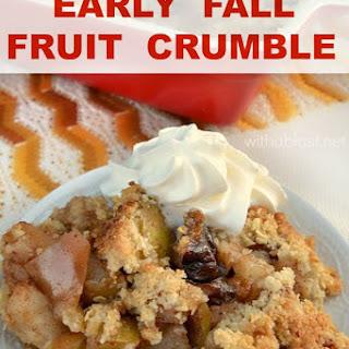 Oat Fruit Crumble Recipes