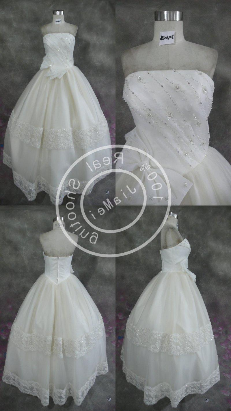 ribbon wedding gown Wedding