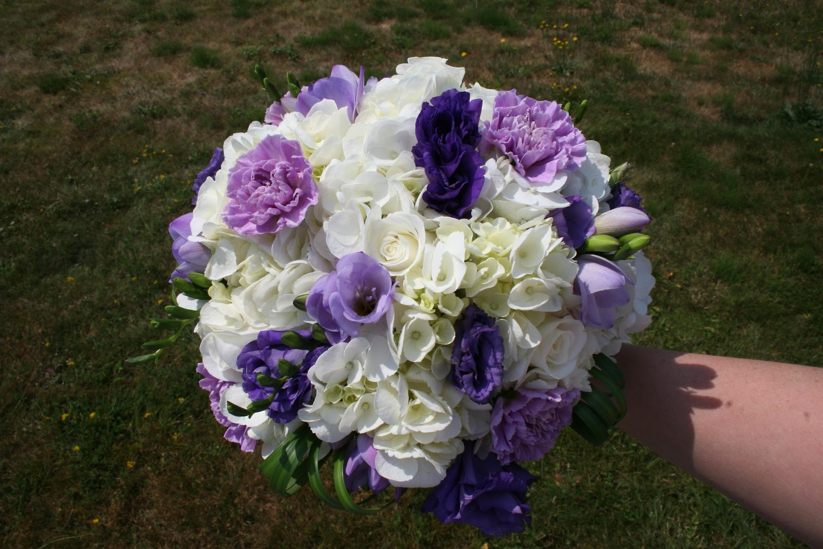 This beautiful bouquet was