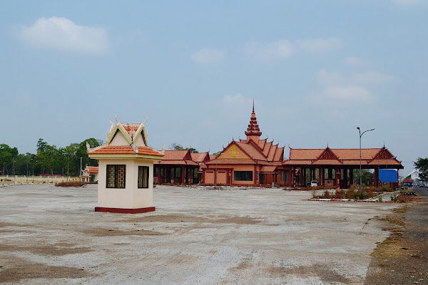 Граница со стороны Камбоджи, Trapeang Kreal.