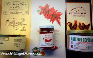 French Village Diaries Les Gastronomades Angouleme food France pate rillettes piment d'Espelette