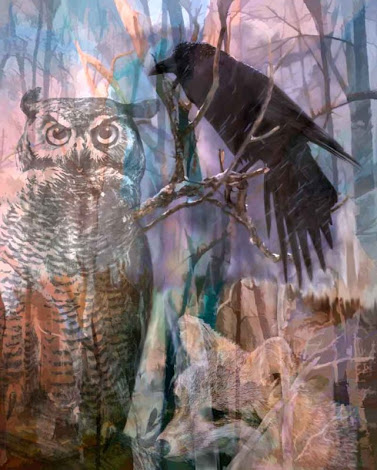 """The """"Winter Woods"""" piece from the """"2007"""" collection"""