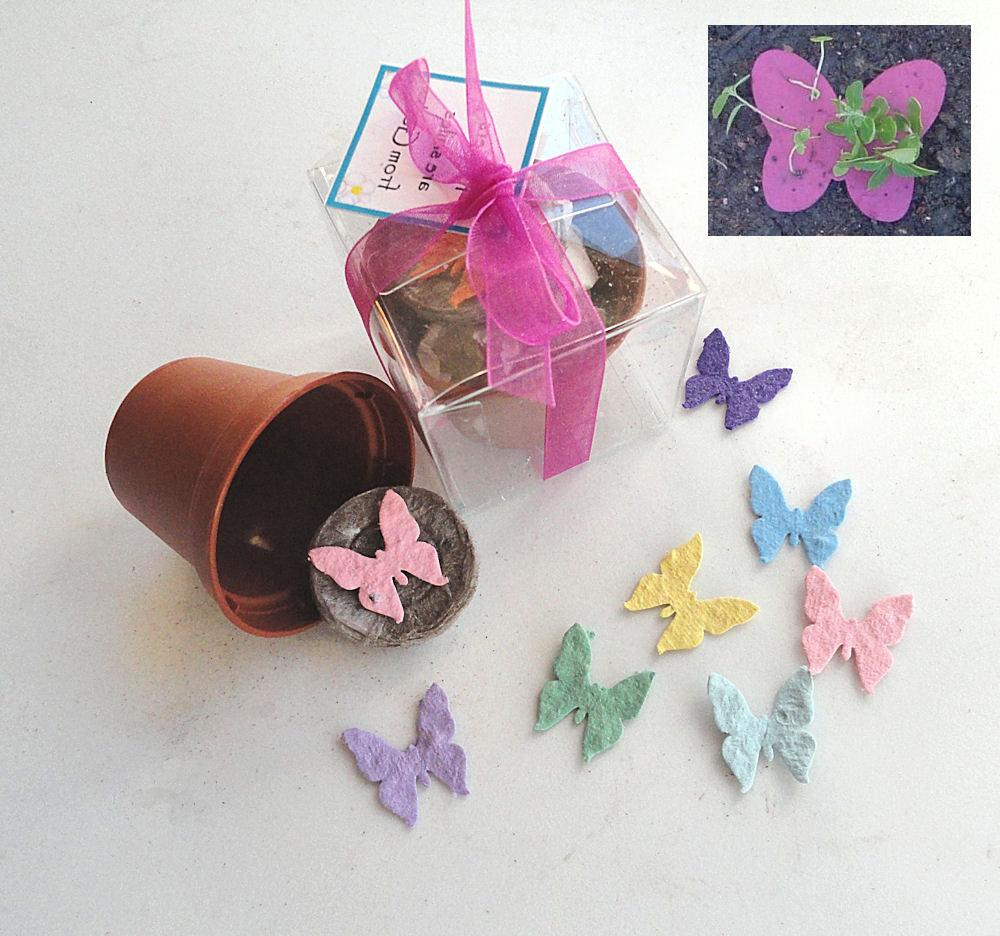 25 Seeded Butterfly Favors