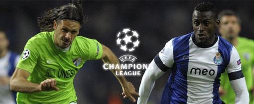 Málaga vs. Porto FC. en Vivo - Champions League