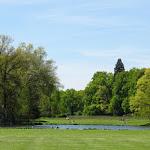 Domaine de Courson : parc et son étang