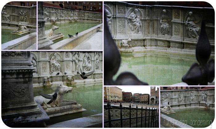 Mosaico fontana 2