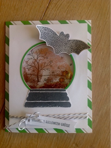 Stampin up Sparkly Seasons
