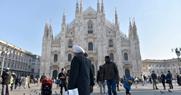 Duomo Milano e migranti