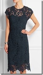 J Crew Collection guipure lace dress