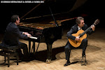 135: Un gran concierto de Clausura del Dúo Cuenca... si cerrabas los ojos podías ver el amanecer en Granada, el agua cantarina brotar de las fuentes...