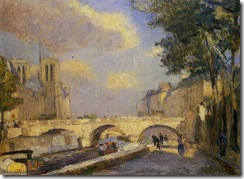 AlbertCharlesLebourg-LaSeineaParisauPontNotreDame(1902)