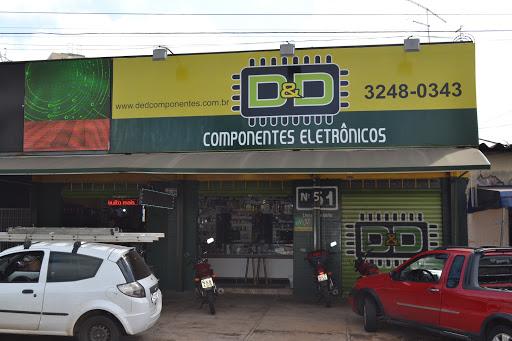 D&D Componentes Eletrônicos, Av. Bela Vista, 51 - Jardim das Esmeraldas, Goiânia - GO, 74830-020, Brasil, Loja_de_aparelhos_electronicos, estado Goias