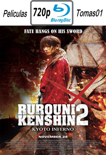 Rurouni Kenshin 2: Kyoto Inferno (2014) [BDRip m720p/Dual Castellano-Japonés]