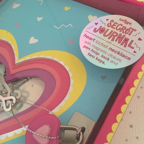 smiggle secret journal