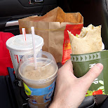 icecap - mcwrap and fries, an amazing breakfast in Vaughan, Ontario, Canada