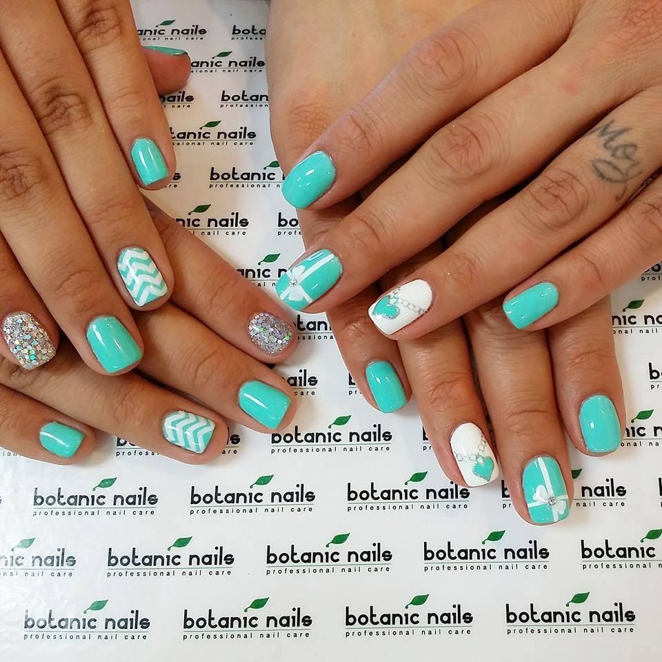 Фото дизайн ногтей бирюзовых