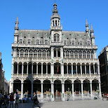 market square downtown brussels in Brussels, Brussels, Belgium