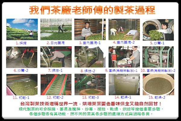台灣製茶技術堪稱世界一流,烘培茶葉要色香味俱全又能自然回甘!