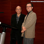 Juan Grecos y José Luis Ruiz del Puerto, entregan los Premios de Poesía