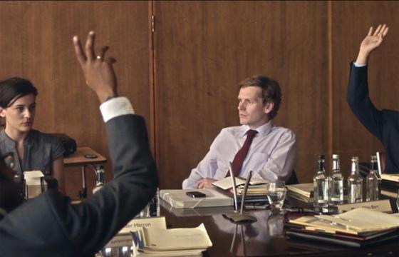 Shaun Evans as Tom in War Book