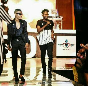 ycee performing with wizkid on stage together