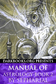 Cover of Sepharial's Book Manual of Astrology Book 2