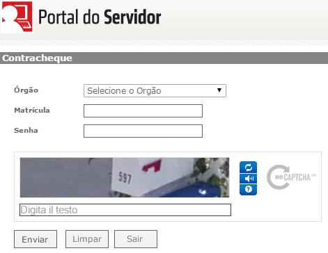 Portal do Servidor Bahia BA - Contracheque …