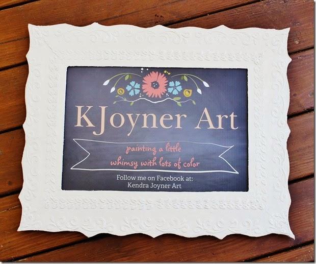 KJoyner Art Creative Ambitions Cardboard Frame