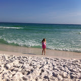 On the Beach in Destin, FL for Spring Break - 2012 - 01