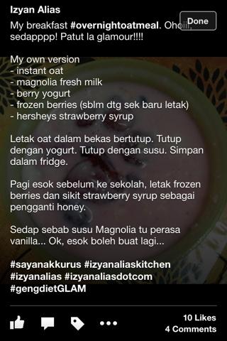 resepi-overnight-oat