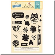Into the Woods - Clear Stamp Set 19pcs