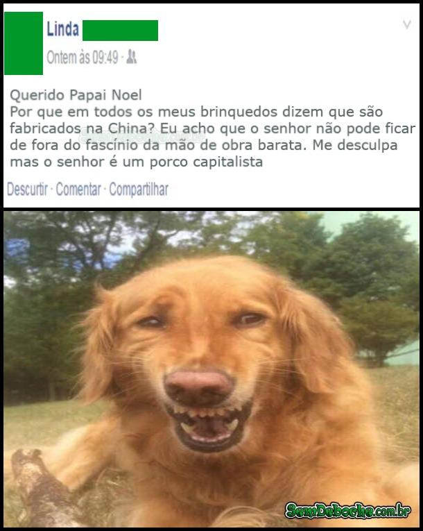 RECADO PARA O PAPAI NOEL