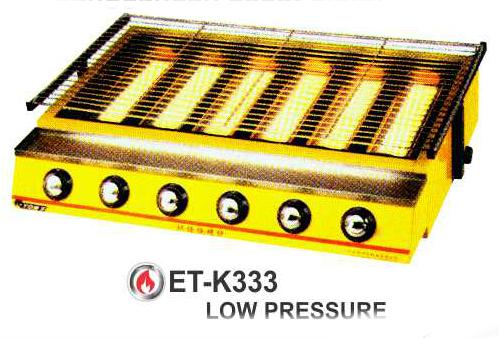 Alat Panggang BBQ 6 Tungku Besar (Burner BBQ Gas) : ET-K333