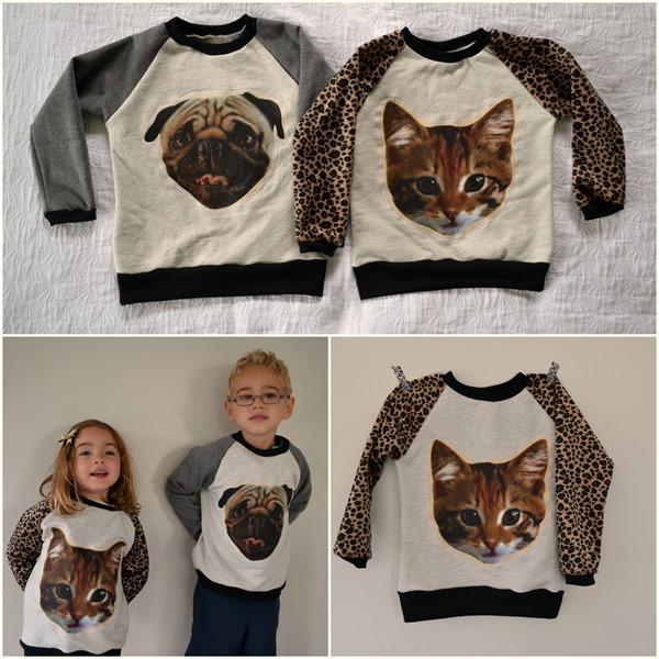 Cat & Pug Sweaters