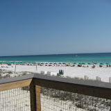 The beach across the street from the condos we stayed in in Destin FL 03182012b