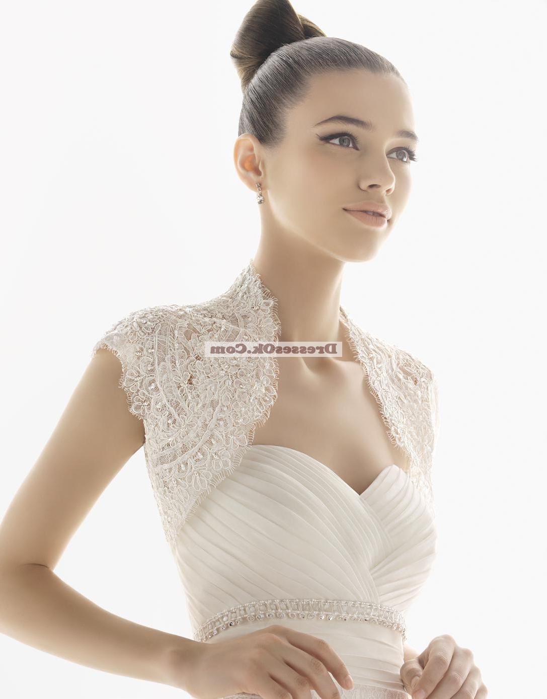 Simple columns sweetheart-neck chapel Wedding Dress AIRBWD055 : Low Price
