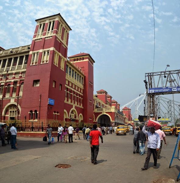 Kolkata Howrah калькутта вокзал ховрах