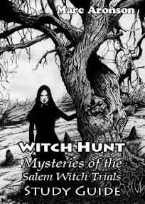 Cover of Marc Aronson's Book Witch Hunt Mysteries of the Salem Witch Trials Study Guide