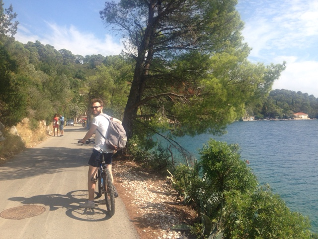 Hiring bikes Mljet Island