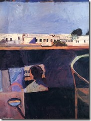 Richard-Diebenkorn-Interior-with-View-of-Buildings