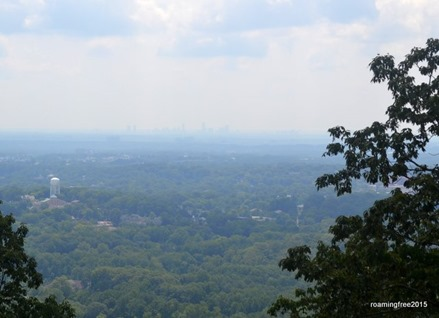 Atlanta in the distance