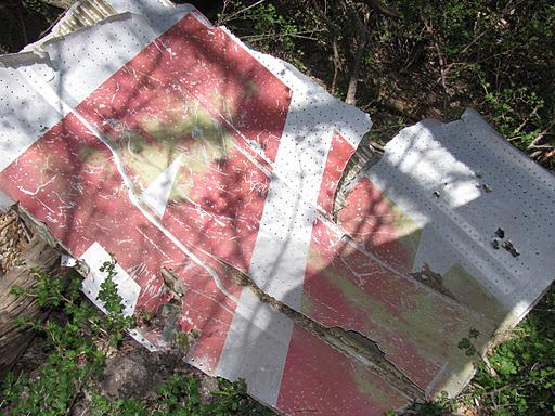 TWA Crash site in Sandia