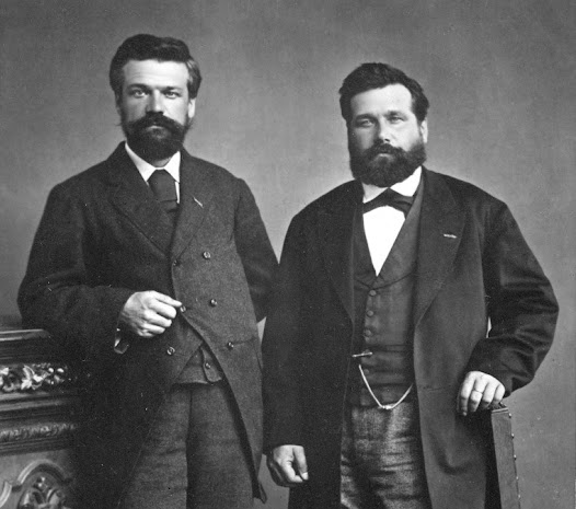 Ernest and Alfred (1840-1894) Solvay, founders of the ammonia-soda industry. © Solvay Heritage Collection