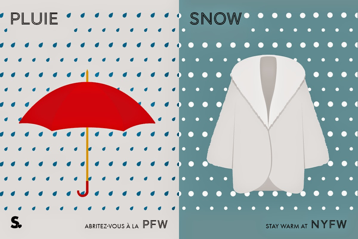 Image of Image of Paris VS New York Fashion Week Infographic 3
