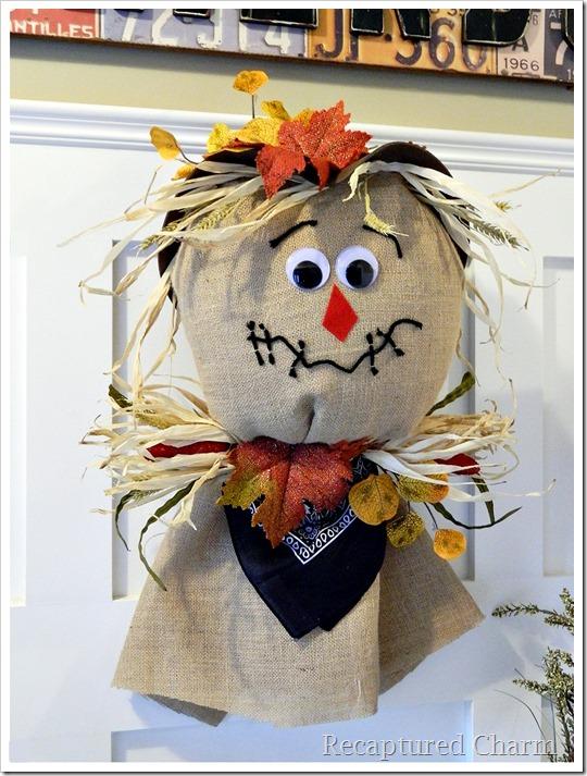 Burlap Scarecrow 23