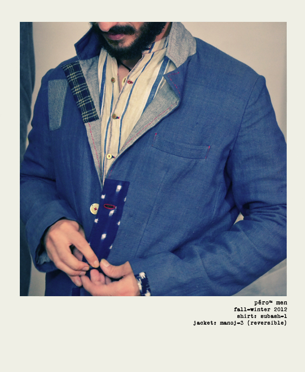 Aneeth Arora: Mixing Paris and London with India [men's fashion]