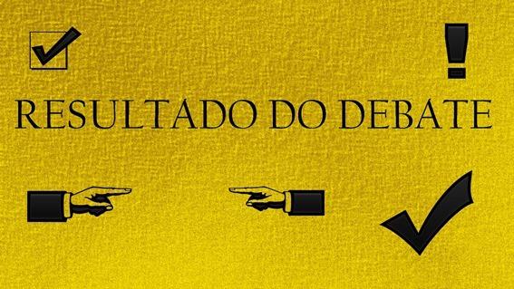 RESULTADO DO DEBATE 2014