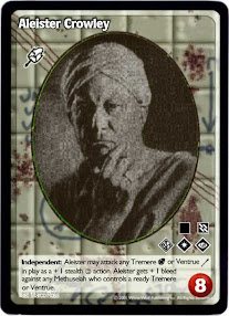 Cover of Aleister Crowley's Book The Royal Game Of Life Or Galestial Snakes And Ladders