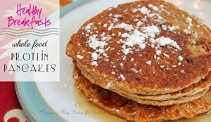 Healthy Breakfast Recipe Protein Pancakes Weight Loss