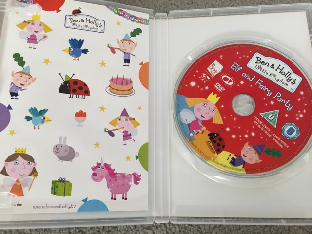 elf and fairy party dvd
